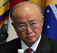 Yukiya Amano the director general of the Vienna based International