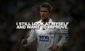 ... quotes wrapped in. David Beckham – World Famous Soccer Icon