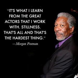 Morgan Freeman Quotes From Movies Movie actor quotes - morgan