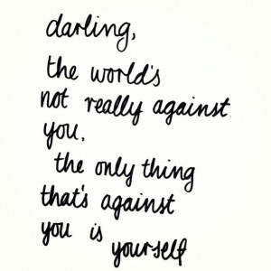 Quotes, darling.