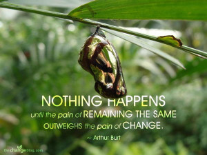 Motivational Quote A Metamorphosis Picture