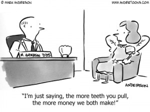 Dentist Cartoon #4015 ANDERTOONS DENTIST CARTOONS