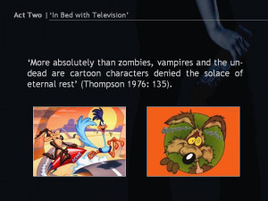 Towardsan Aesthetics of Television'