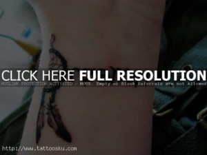 Wrist Quote Tattoos for Girls