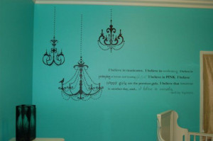 Would love this wall decal in my future walk-in closet!