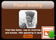 Pearl Bailey Life and Living quotes