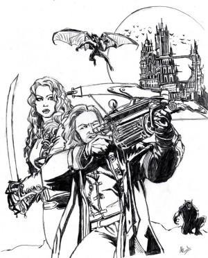 Van Helsing Poster by Fikus by dartbaston