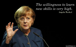 Angela Merkel Positive, Learning Quotes Images, Pictures, Photos, HD ...