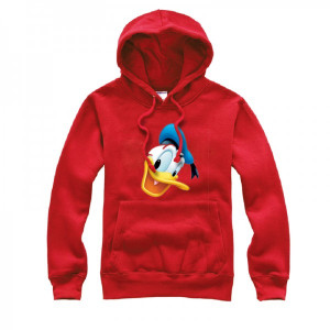 Disney Donald Duck open his mouth pullover hoodie details: