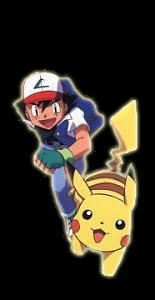 Ash and Pikachu - pokemon Photo