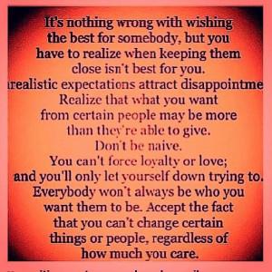 Don't be naive