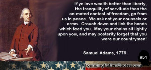 Famous Liberty Quotes Founding father quote