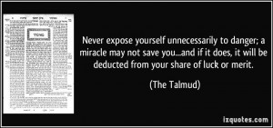 Quotes From the Talmud