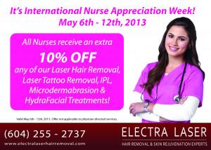 Did you know it's International Nurse Appreciation Week?