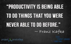 Famous quotes about Productivity QuotesSays COM