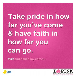 ... support this month? #quote #inspire #pink #pinkribbon #love #hope #