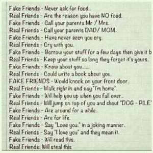 entertainment real friends fake friends real friends fake friends