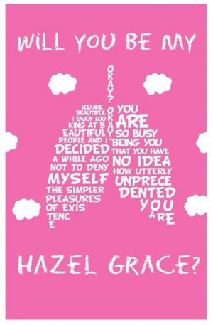 Hazel Grace ~ The Fault In Our