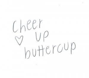 ... pencil UP picture heart cup Sketch cheer Butter cheer up buttercup