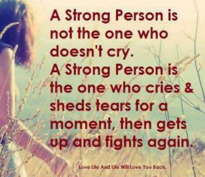 Tears/Strength