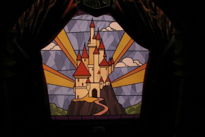 Next is the castle of King Stefan, father of Princess Aurora with a ...