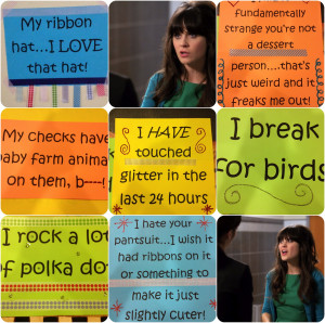 New Girl quotes collage.jpg New Girl Tv Show Quotes