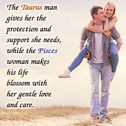 Taurus man and Pisces woman relationship