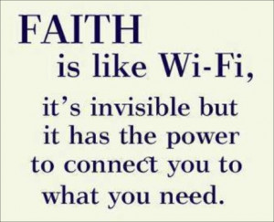 May 23, 2013 - Inspirational Quote about Faith