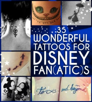 cute disney quote tattoos