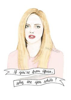 ... Girls Watercolour, Funny Movies, Karen Smith Mean Girls, Quote