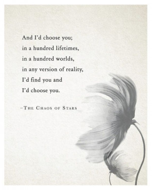 ID Choose You Quotes