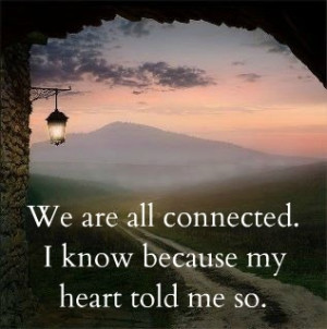 we are all connected, heart, solidarity, interconnectedness ...