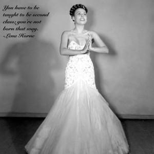 Women: Lena Horne