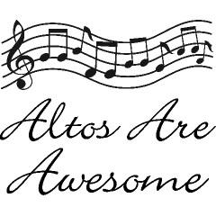 Alto Singer Music Gift