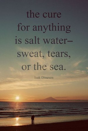 Isak Dinesen. by Cat Dossett, via Flickr