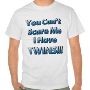 Parent of Twins Humour Shirt 2