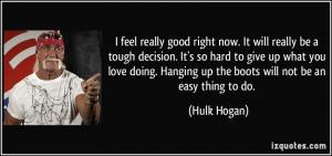 Tough Decision Quotes Be a tough decision. it's