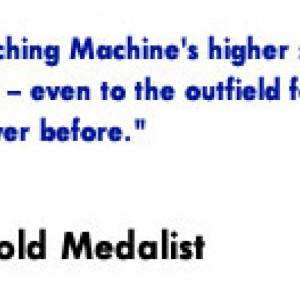 Michelle Smith Endorses The JUGS Super Softball Machine