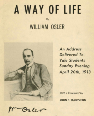 Sir William Osler Quotes