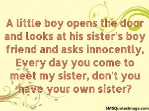 funny quotes about little boys