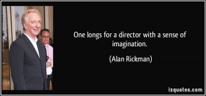 More Alan Rickman Quotes