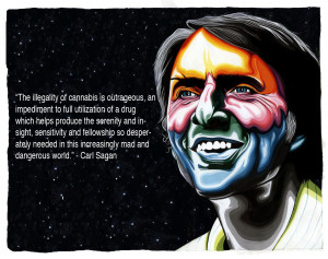 ... sagan e1303943633218 Carl Sagan Quotes on Marijuana in LSD Technicolor