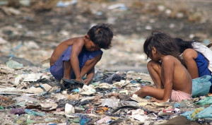 Half of the children in the world live in extreme poverty.