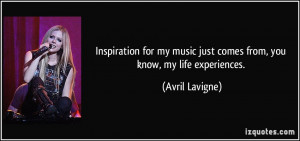 More Avril Lavigne Quotes