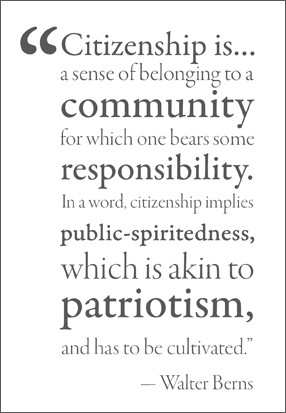 Awareness of this places upon human beings a responsibility for their ...