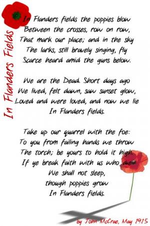 Memorial day poems, phrases, etc.