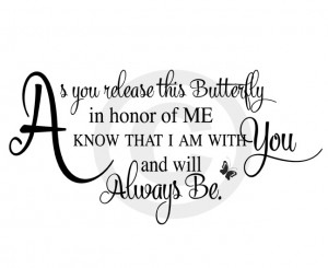 Scripted Memorial Poems : Butterfly Release Funeral PoemFuneral Quotes ...
