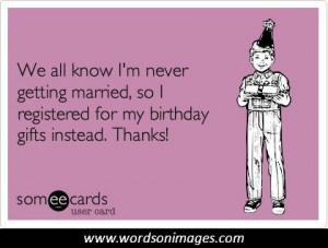 Funny Birthday Wish Quotes