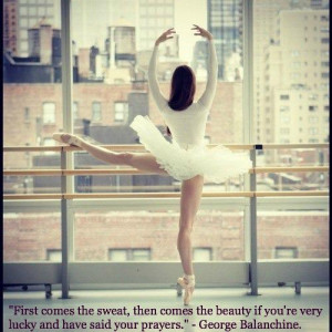 If you would like more ballet inspiration, quotes and eye candy ...