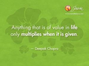 Love Deepak Chopra Quotes